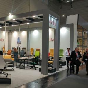 Casella attends the fair in Germany